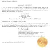 FDA license for TIbetan cordyceps sinensis