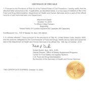 FDA license for Fucoidan